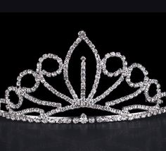 Kids Flower Girl Children Wedding Prom Tiara Crown Headband