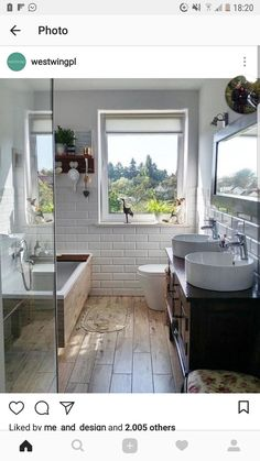 Bathroom decorations and accessories ► on WestwingNow, BATHROOM IDEAS 💙 With just a few things you can transform your home bathroom into a small private spa. By choosing neutral colors, warm lights, materi. Bathroom Interior Design, Interior Design Living Room, Modern Bathroom, Small Bathroom, Casa Milano, Bathroom Renos, Remodel Bathroom, Bathroom Ideas, Dream Bathrooms