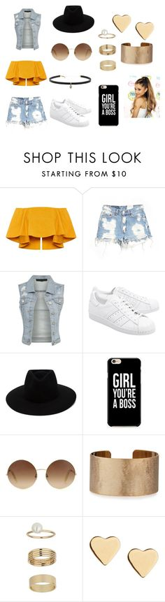"""For godlygrande's book"" by kyra-pretorius on Polyvore featuring Furst of a Kind, adidas Originals, rag & bone, Victoria Beckham, Panacea, Miss Selfridge, Lipsy and Carbon & Hyde"