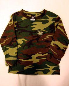 849b5cd96 Baby & Kids. Long Sleeve ShirtsBaby KidsCodingBlouseNavy SealsCamoGreen SleevesSweatshirts