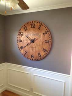 40inch Large French Country Wall Clock by FullCircleDecor on Etsy