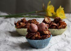 Raw Vegan Gluten Free Coconut Mylk Chocolate Nests