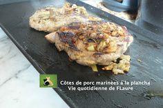 Côtes De Porc Marinées A La Plancha