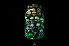 Аэрография на мотоцикле Harley-Davidson Художник: Юрий Соколов Yourlife Airbrushing