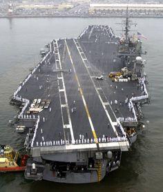USS Constellation CVA CV 64 Kitty Hawk class aircraft carrier US Navy