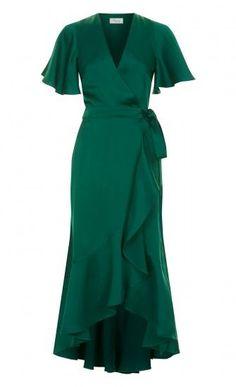 Parrot Wrap Dress - Parrot Wrap Dress Source by feenalanna - Dress Outfits, Fashion Dresses, Dress Up, Cute Outfits, Wrap Dress Outfit, Elegant Dresses, Beautiful Dresses, Evening Dresses, Prom Dresses