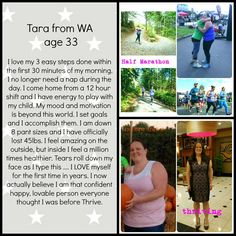 Check out tara's awesome story! <3 #beforeandafter #transformation #marathon #runner #mombie #momlife #nurse #workhard #fitness #eatclean