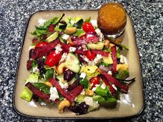 Peace, Love, and Low Carb: Not Your Average - Greek Salad