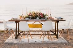 Tranquil Bohemian Beach Wedding Inspiration | Ruffled Floral: Precious and Blooming
