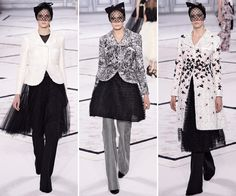 Your Guide to Spring 2015 Couture Fashion Week - Coat + Skirt + Pants = The New Three-Piece from #InStyle
