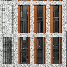 Trendy Ideas For Exterior Stone Facade Architecture Stone Facade, Brick Facade, Facade House, Brick Architecture, Architecture Details, Chinese Architecture, Architecture Office, Futuristic Architecture, Building Facade