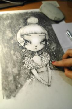 ADOLIE DAY ILLUSTRATIONS: Drawing before painting #3
