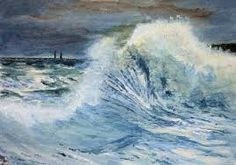 stormy sea painting - Google Search