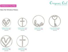 Take a peek at our new fall collection. For the full collection go to my website: www.nicolealmsted.origamiowl.com