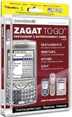 Handmark Software ZAGAT TO GO 2006 for Pocket PC Version 5.0 Brand New #HandmarkSoftware