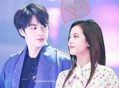 #jinsoo #bangpink Kpop Couples, Blackpink And Bts, Sweet Couple, Bts Jin, Bangs, Besties, Idol, Ship, Amazing