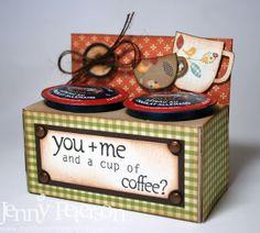K Cup Holder Papercraft.