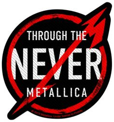 #Patch METALLICA - Through The Never #metallica www.rockagogo.com