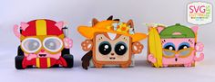 Doxie Mel Designs: Squaredy Cats Parade!