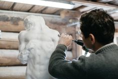"""""""Every content has its form and every form has its material"""" - Christian Bolt, sculptor & painter World Economic Forum, Davos, What Goes On, Design Crafts, To Go, Content, Christian, Couple Photos, Couple Shots"""
