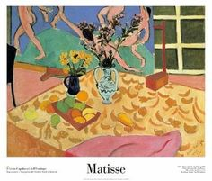 LE175 - Henri Matisse - Still Life with The Dance - 23.5 X 27.5 inches - 60 X 70 cm $50.00 CAD