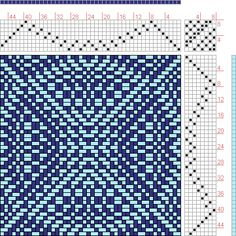 Hand Weaving Draft: New Draft, , 8S, 8T - Handweaving.net Hand Weaving and Draft Archive