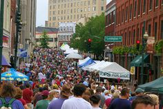 Bele Chere Festival, Asheville, NC .....the last weekend in July for 35 years!.... last played 2013........miss it