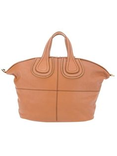 Brown leather bag from Givenchy 'Nightingale'