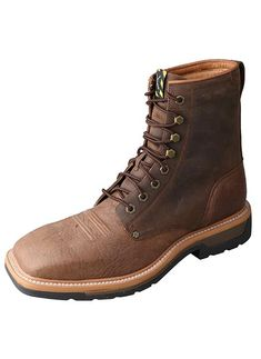 Tombstone Men S Square Toe Lace Up Brown In 2019 Waynes