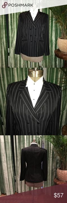 Vintage Isabel Ardee Tux's Blazer One of a kind vintage tux black and white blazer.  In great condition and only worn a few times.    Jacket: 84% triacetate, 15% Polyester and 1% rayon Lining: 100% rayon Isabel Ardee Jackets & Coats Blazers