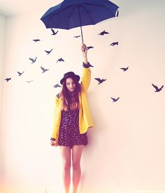 rain is awesome ergo raincoats are awesome