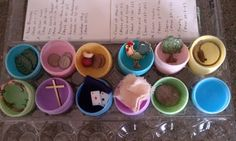 Great idea for kids at church? Future advent calendar for Easter.