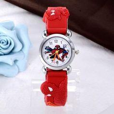 Delicious Free Shipping 1pcs Cartoon Super Mario Doll Kids Watch Children Kids Girls Boys Students Quartz Wristwatches. Watches