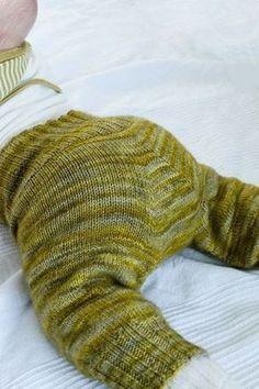 Strickanleitung Hosenmatz für Babies