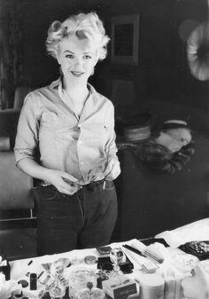 Marilyn Monroe Milton greene and Bus stop