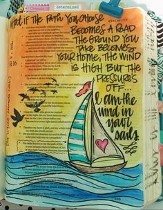 I am the wind in your sails