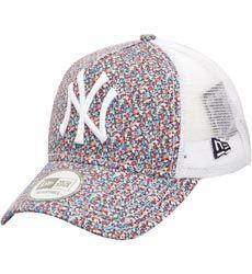 X LIBERTY Casquette Trucker 9Forty NY Yankees   MULTICOLORENew Era