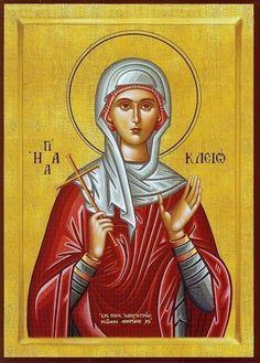 St. Klio / St. Cleo / St. Kleo (Κλειώ) the Martyr - September 1