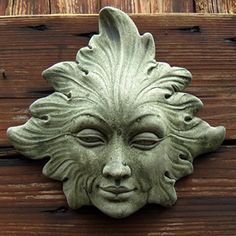 The Leaf Woman is a female tree spirit with an elegant form and cool charisma. Cast in frost-proof concrete the Leaf Woman is suitable for both indoors and outdoors. She is in wide, 1 (Cool Paintings For Men) Celtic, Tree Faces, Nature Spirits, Clay Faces, Wood Sculpture, Metal Sculptures, Abstract Sculpture, Bronze Sculpture, Kintsugi