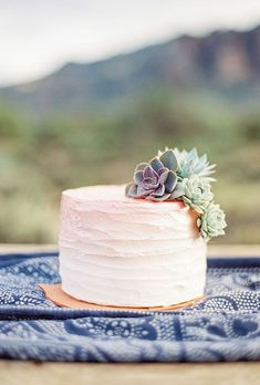 Image result for one tier buttercream wedding cake ideas
