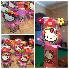 Hello Kitty center pieces