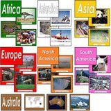 Montessori 123 - Complete Set of Image Folders for all Continents - Montessori Materials