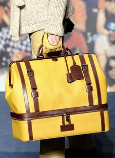 Fashion & Lifestyle: Trussardi Bags Fall 2012 Menswear