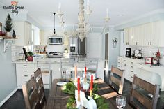Farmhouse+Kitchen+Makeover