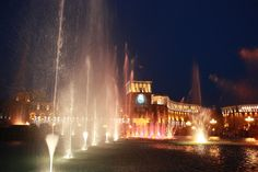 Yerevan is super beautiful in summer evenings - the singing fountains, the Republic Square and all the people enjoying the evening around. For a Yerevan city tour please visit www.visitarm.com