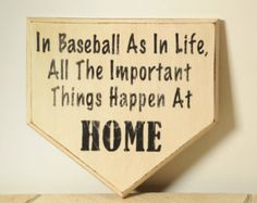 home plate door hangers - Google Search
