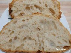 Kovászos fehér kenyér   Betty hobbi konyhája Bread, Recipes, Food, Breads, January, Attila, Brot, Essen, Eten