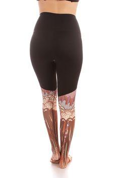 Kaya Legging - High Waisted - Prints - Pants + Leggings - Mika Yoga Wear - 12