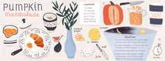 Pumpkin Marmalade by Sophiequi - They Draw & Cook