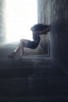 """Untitled"" by Janelle Cordova, via Flickr. #janelle_cordova #photography #women #gravity #light #walls"